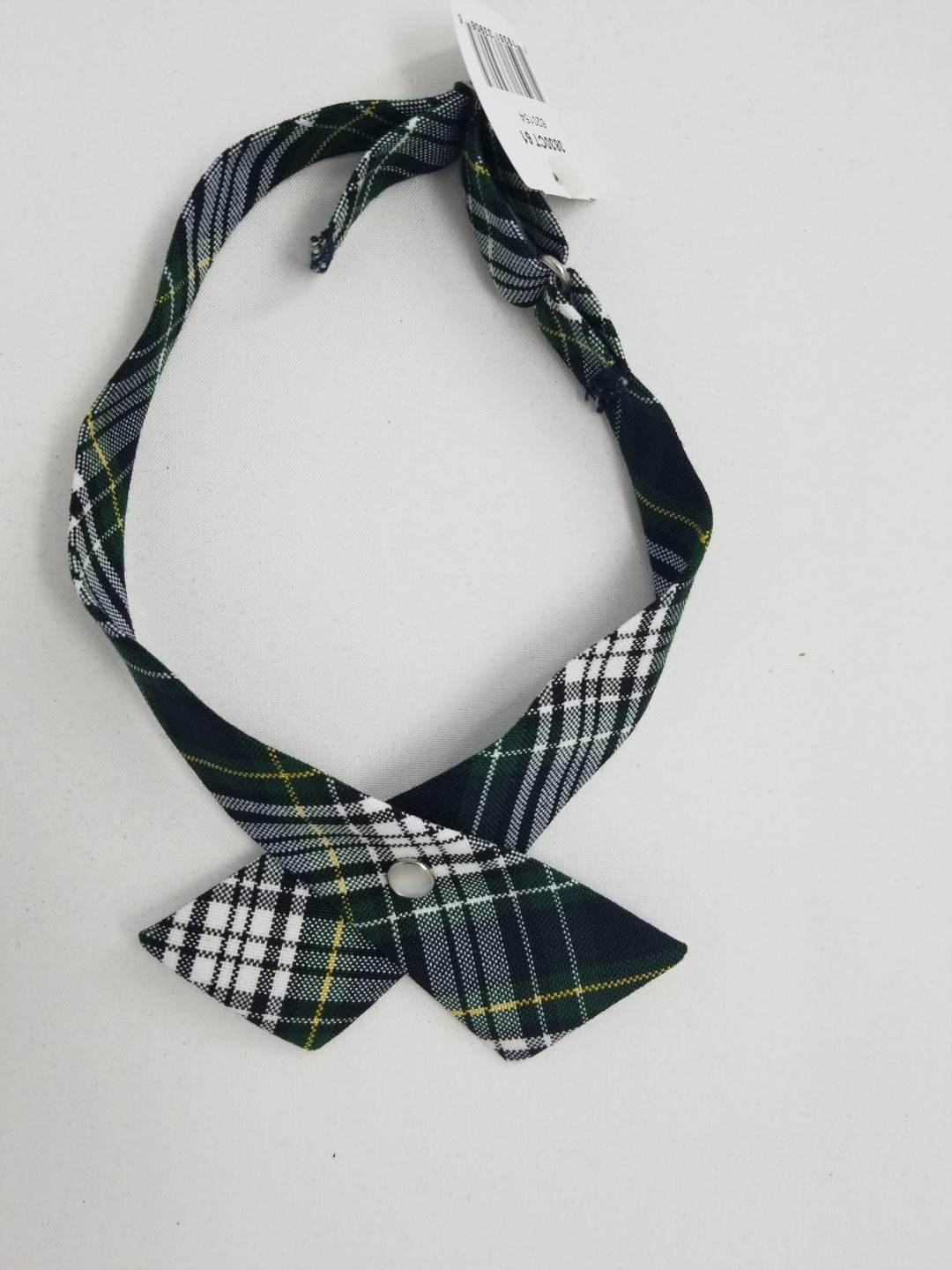 Girls Crossover Tie-Plaid 82