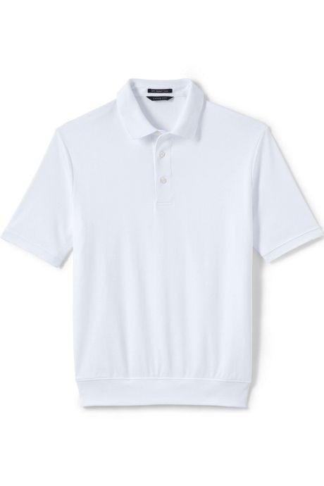 """Banded Bottom """"No Tuck"""" Polo - Pique - Short Sleeve"""