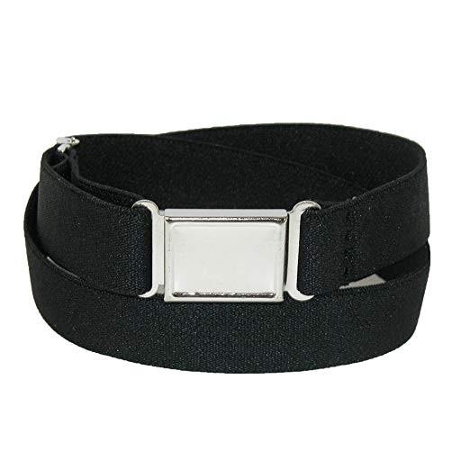 Elastic Belt with Magnetic Closure-Black