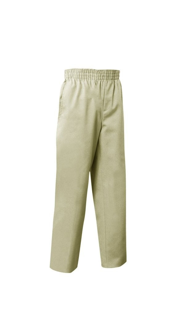 Toddler Pull-On Pant- Solid Colors