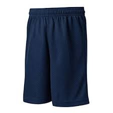 Mesh Gym Short-Navy