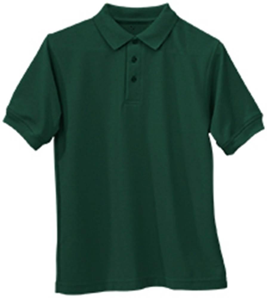 Smooth/Jersey Polo - Short Sleeve-Hunter Green
