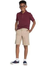 Best Value Boys Flat Front Short