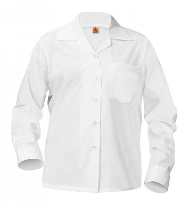 Sport Collar Blouse- Long Sleeve