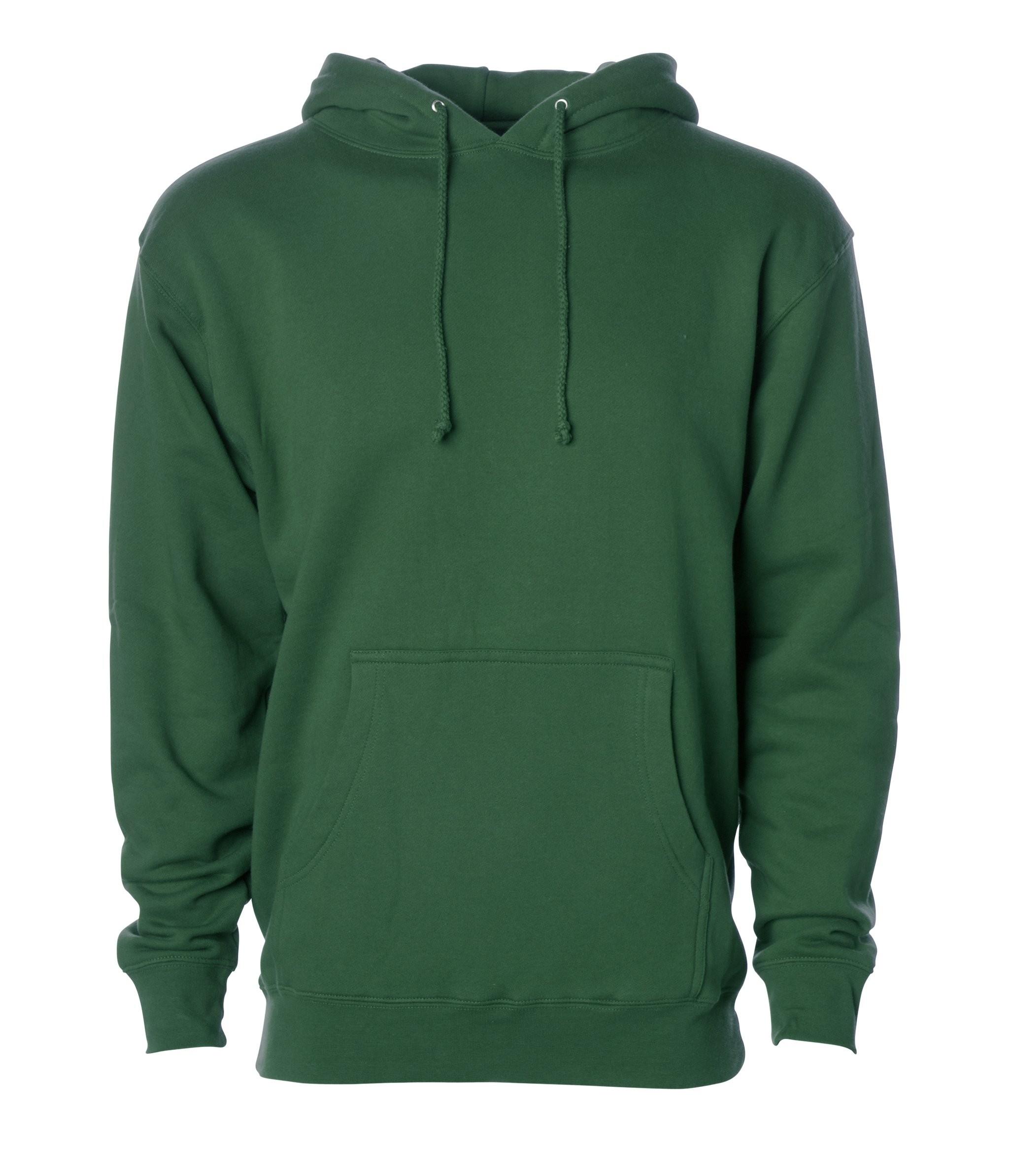 Hooded Sweatshirt-Hunter Green