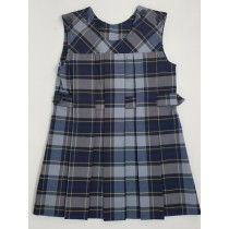 Yoke-Top Jumper- Style 65-Plaid 34