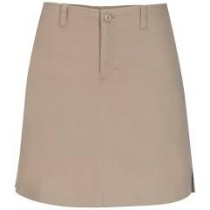 Stretch Fly-Front Skort