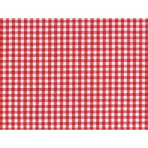 YOUNG FASHIONS PLAID 01 (RED GINGHAM)
