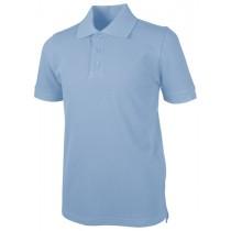 Pique Polo - Banded Sleeve - Short Sleeve