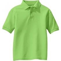 Advantage Charter- Lime Green Polo