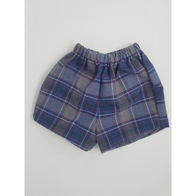 Girls Modesty Short- Plaid-Plaid 20