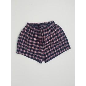 Girls Modesty Short- Plaid-Plaid 26