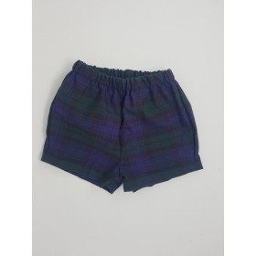 Girls Modesty Short- Plaid-Plaid 14
