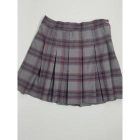 Stitch Down Pleat Skirt- Style 11-Plaid 83