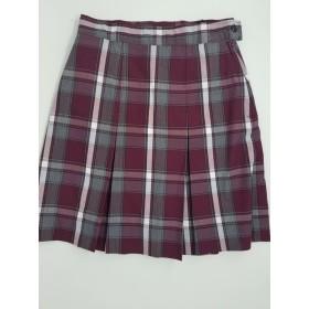Box Pleat Skirt- Style 48-Plaid 62