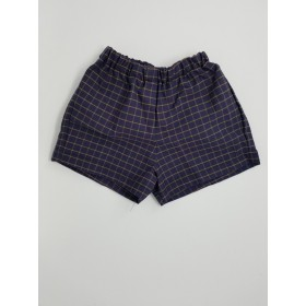 Girls Modesty Short- Plaid-Plaid 18