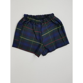 Girls Modesty Short- Plaid-Plaid 71
