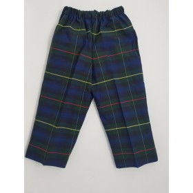 Toddler Pull On Pant- Plaid-Plaid 71