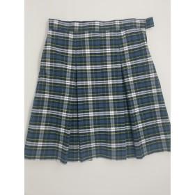 Box Pleat Skirt- Style 48-Plaid 50