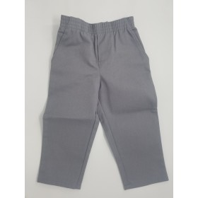 Toddler Pull-On Pant- Solid Colors-Grey