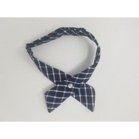 Girls Crossover Tie-Plaid 8