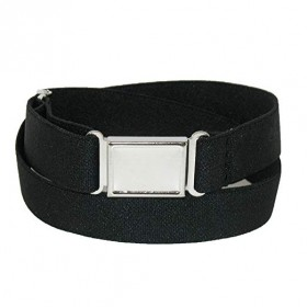 Elastic Belt with Magnetic Closure-Black