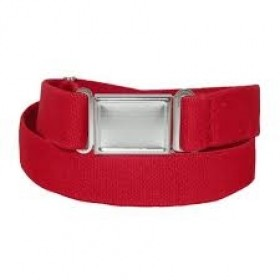 Elastic Belt with Magnetic Closure-Red