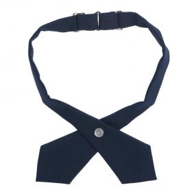 Girls Crossover Tie-Navy