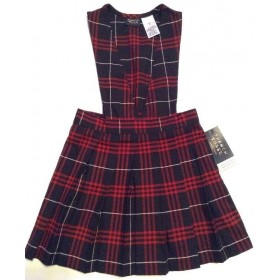 Best Value Bib-Top Jumper- Plaid 77