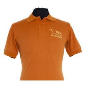 Pique Knit Polo for IDEA Public Schools- Short Sleeve-IDEA Orange