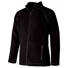 Polar Fleece Jacket- Full Zip-Black