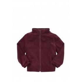 Polar Fleece Jacket- Full Zip-Maroon