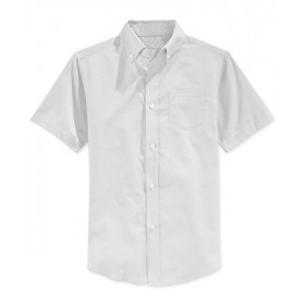 Oxford Shirt- Short Sleeve-White