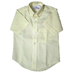 Oxford Shirt- Short Sleeve-Oxford Yellow