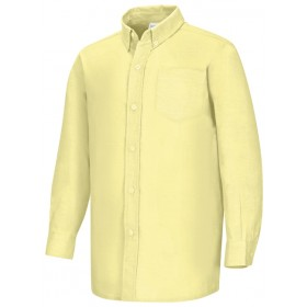 Oxford Shirt- Long Sleeve-Yellow