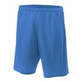 Mesh Gym Short-Royal Blue