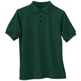 Smooth/Jersey Polo - Short Sleeve-Hunter Green