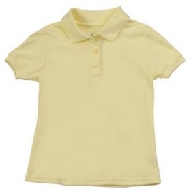 Smooth/Jersey Polo - Short Sleeve-Yellow