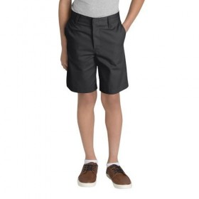 Best Value Boys Flat Front Short-Navy