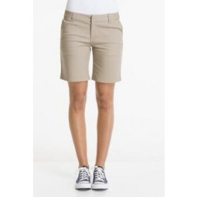 Girls Best Value Solid Color Short-Khaki