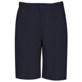 Girls Best Value Solid Color Short-Navy
