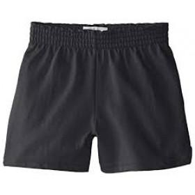 Girls Modesty Short- Solid Color-Black