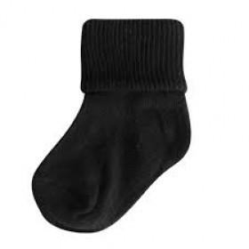 Classic Bobby Sock-Black