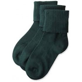 Classic Bobby Sock-Hunter Green