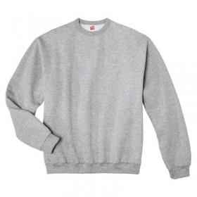 Crew Neck Sweatshirt-Grey