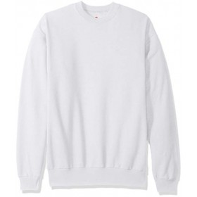 Crew Neck Sweatshirt-White