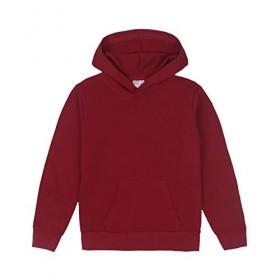 Hooded Sweatshirt-Maroon