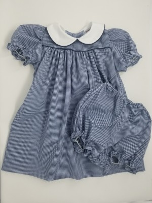 Gingham Smock Dress- Style 04