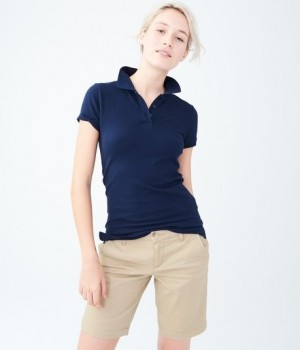 Girl Fit Polo- Short Sleeve