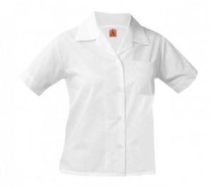Sport Collar Blouse- Short Sleeve